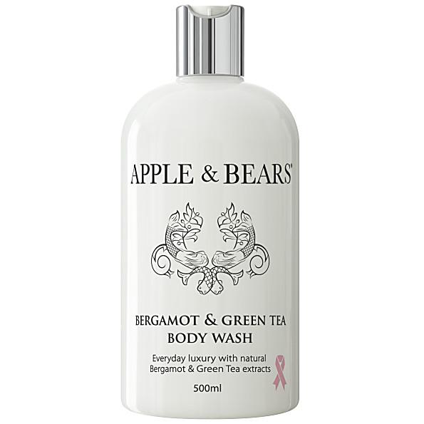 Apple & Bears Bergamote et The Vert Gel Douche (500ml)