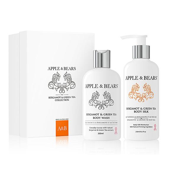 Apple & Bears Coffret Cadeau Luxueux - Bergamote & The Vert