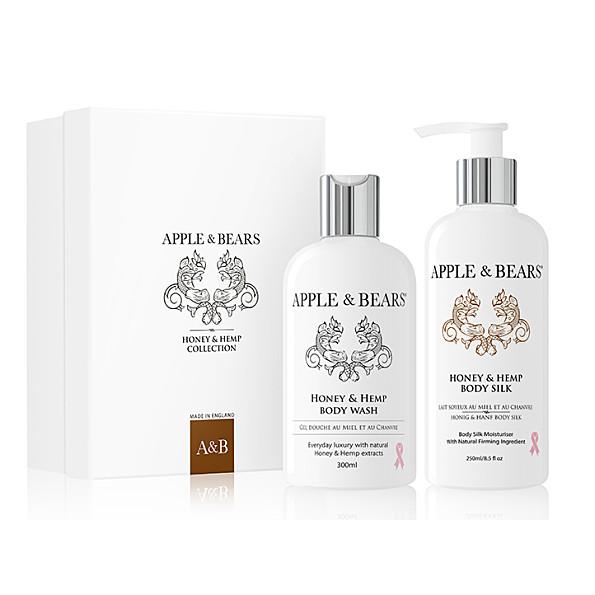 Apple & Bears Coffret Cadeau Luxueux - Miel et Chanvre