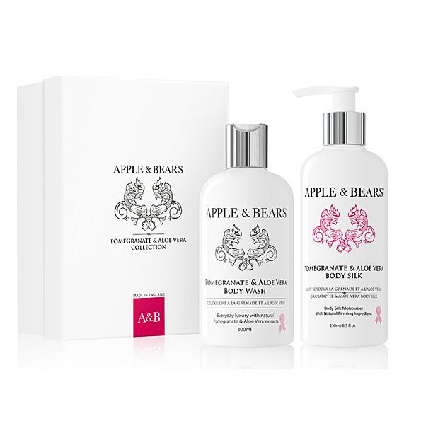 Apple & Bears Coffret Cadeau Luxueux - Grenade & Aloe Vera