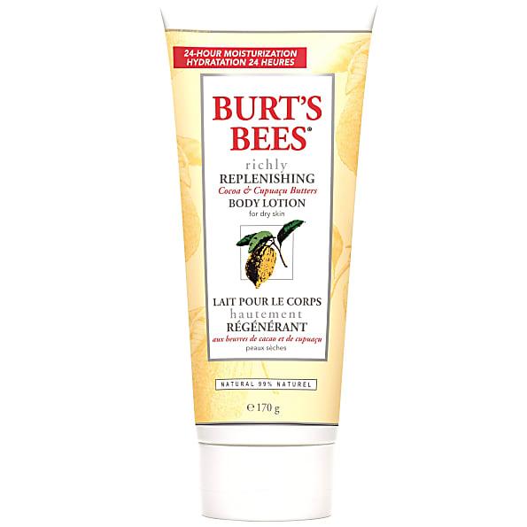 Burt's Bees - Lait Riche et Reconstituant Beurre de Cacao et de Cup...