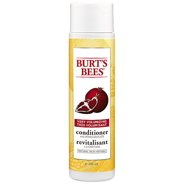 Burt's Bees - Apres-Shampoing Volume Grenade & Soja