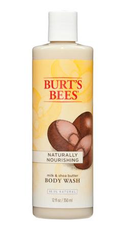 Burt's Bees - Gel de Douche Lait & Beurre de Karite