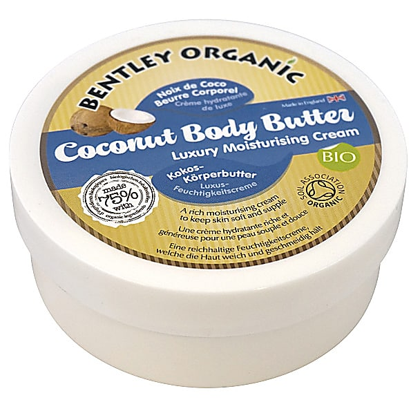 bentley organic beurre corporel l 39 huile de coco bio. Black Bedroom Furniture Sets. Home Design Ideas