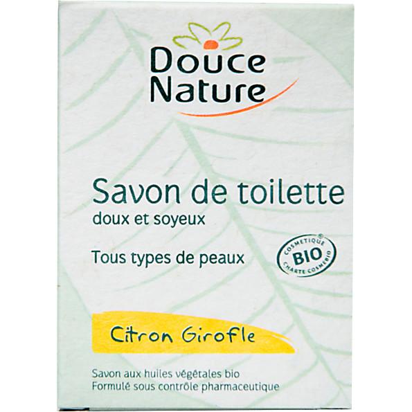 Douce Nature - Savon de toilette - Citron girofle