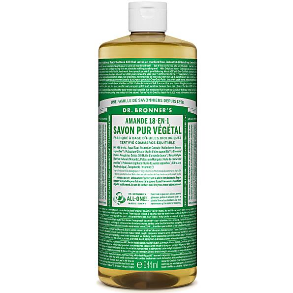Dr. Bronner's - Savon Liquide de Castille - Amande - 946ml