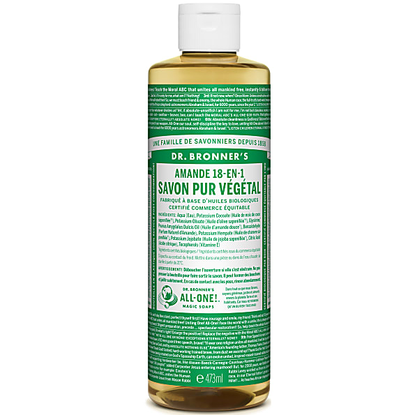Dr. Bronner's - Savon Liquide de Castille - Amande - 472ml