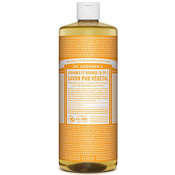 Dr. Bronner's - Savon Liquide de Castille - Agrumes - 946ml