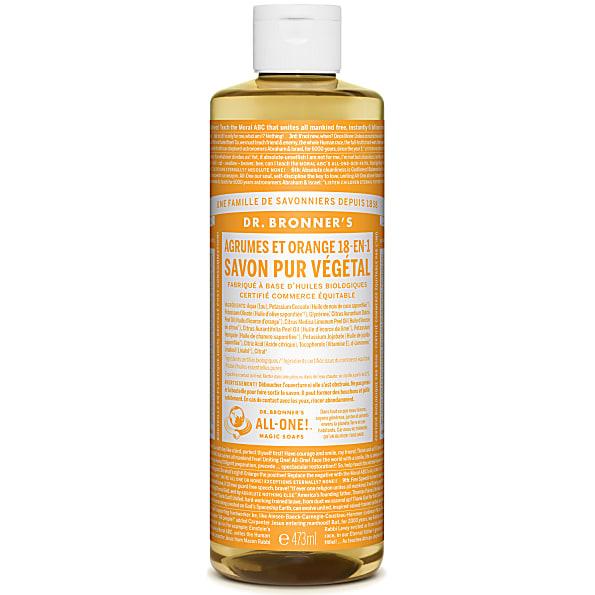 Dr. Bronner's - Savon Liquide de Castille - Agrumes - 472ml