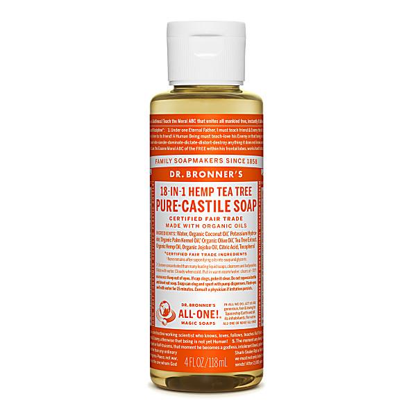 Dr. Bronner's - Savon Liquide de Castille - Arbre à the - 118ml