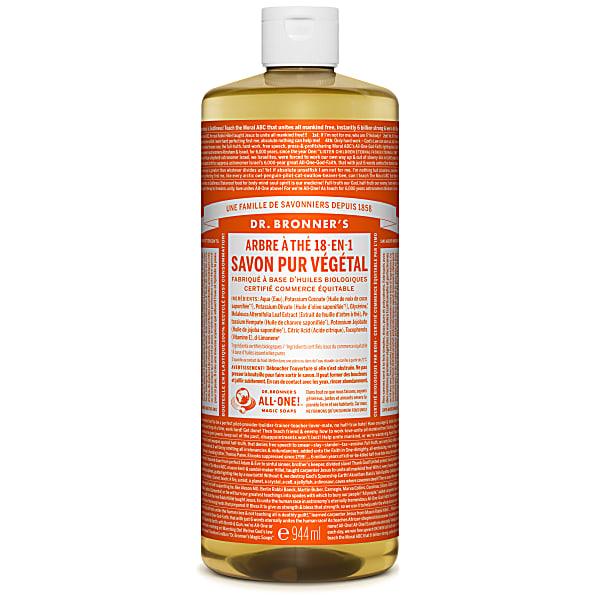 Dr. Bronner's - Savon Liquide de Castille - Arbre à the - 946ml