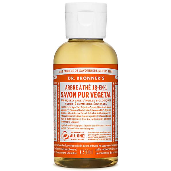 Dr. Bronner's - Savon Liquide de Castille - Arbre à The - 59ml