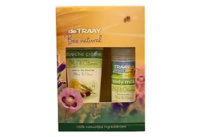 De Traay - Coffret Cadeaux Soins Olive et Citron