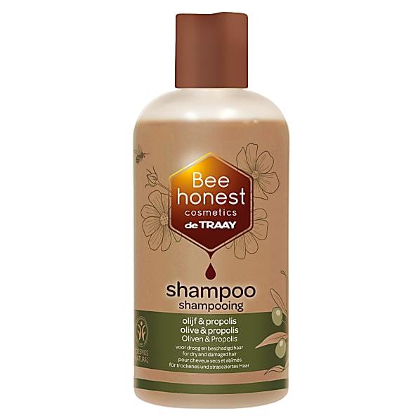 De Traay Bee - Shampoing Cheveux Secs et Abimes - Olive et Propolis