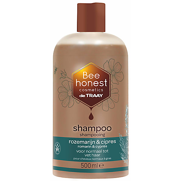 De Traay - Shampoing Cheveux Normaux à Gras - Romarin Cypres - 500 ml