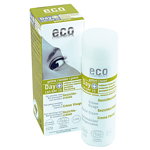 Eco Cosmetics - Crème Visage - Indice 15