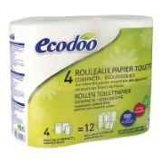 Ecodoo Papier Toilette Compact (4 rouleaux)