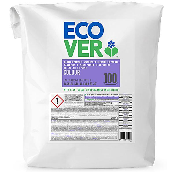 Ecover - Lessive poudre Couleurs vives - 7,5 kg