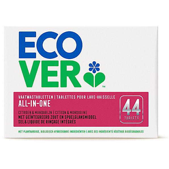 Ecover - Tablettes pour Lave-Vaisselle Tout-en-Un