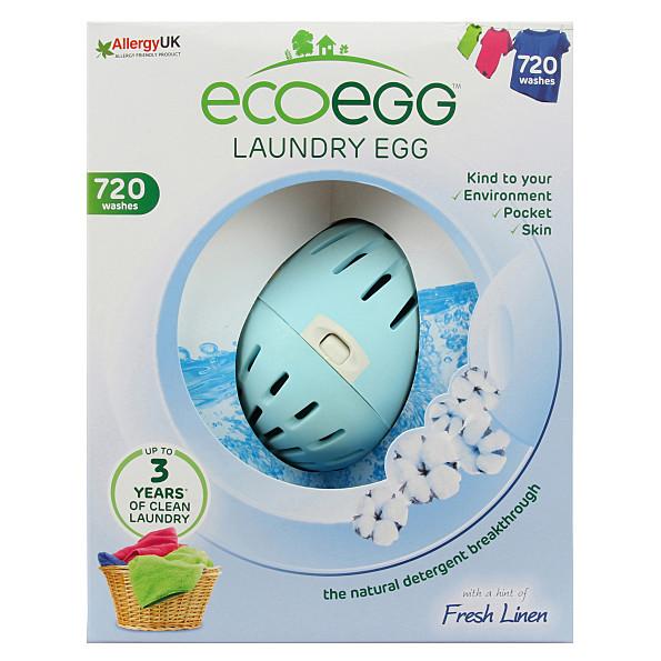 Eco Egg Balle de Lessive 720 Machines (Soft Cotton)