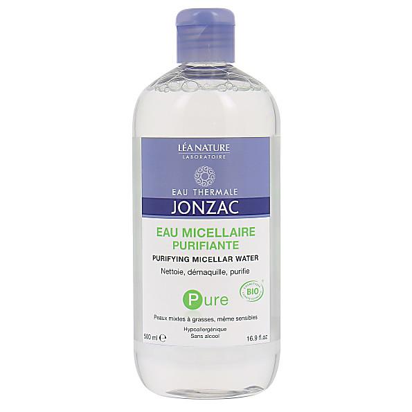 Eau Thermale de Jonzac - Eau Miscellaire Purifiante - 500 ml