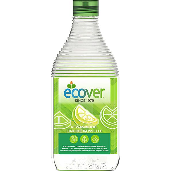 Ecover - Liquide Vaisselle - 500ml (Citron et Aloe Vera)