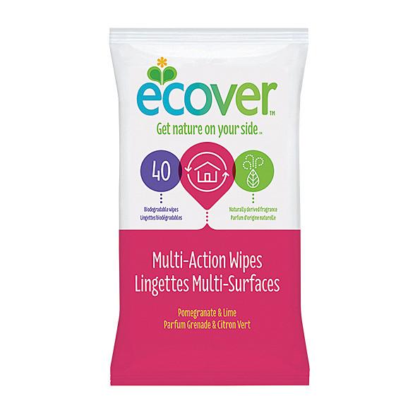 Ecover - Lingettes multi-usages Citron Vert Grenade