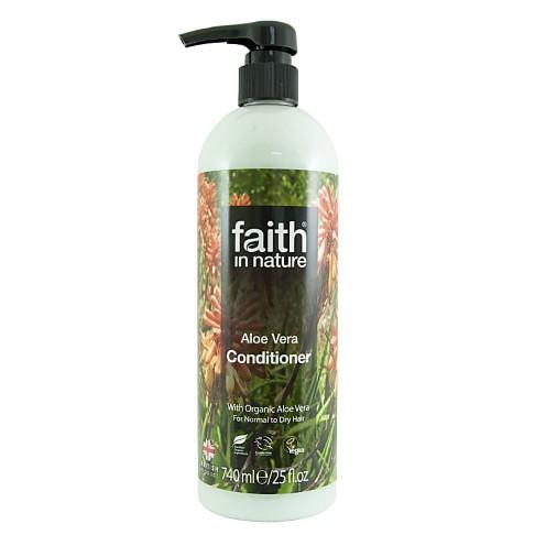 Faith in Nature Après Shampoing à l'Aloe Vera - 740ml