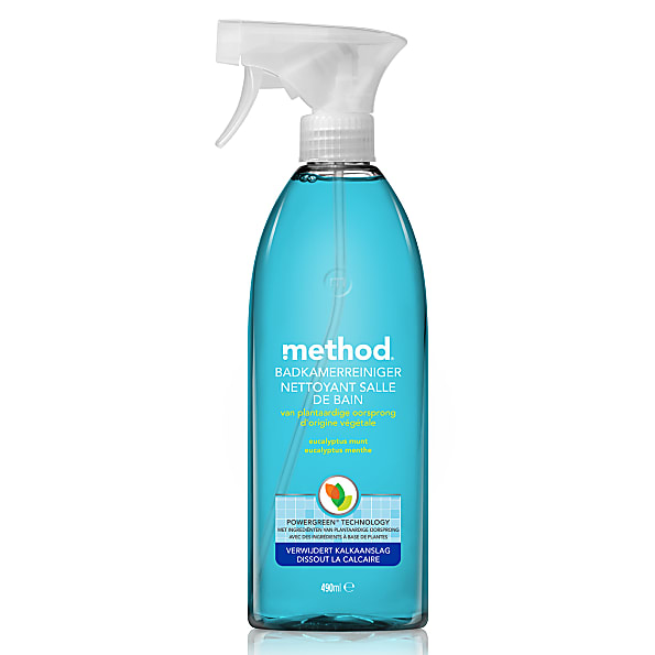 Method nettoyant carrelage et bain r f 3654219389 for Produit nettoyage carrelage