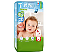 Tidoo - Couches Taille 4 Night and Day - 50 couches Maxi (7-18kg)