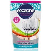 Ecozone - Tablettes lave-vaisselle Brillance - 25 tablettes