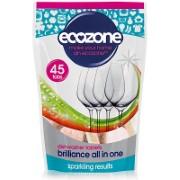 Ecozone - Tablettes lave-vaisselle Brillance - 45 tablettes