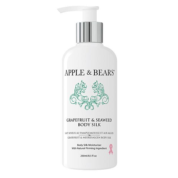 apple & bears pamplemousse et algues lait soyeux de luxe