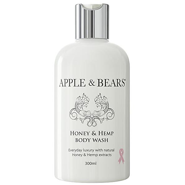 apple & bears miel et chanvre gel douche (300ml)