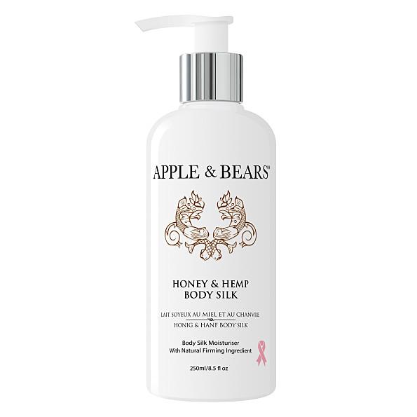 apple & bears miel et chanvre lait soyeux de luxe