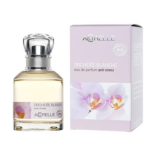 acorelle - eau de parfum anti-stress - orchidee  blanche