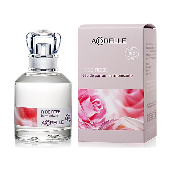 acorelle - eau de parfum harmonisante - r de rose