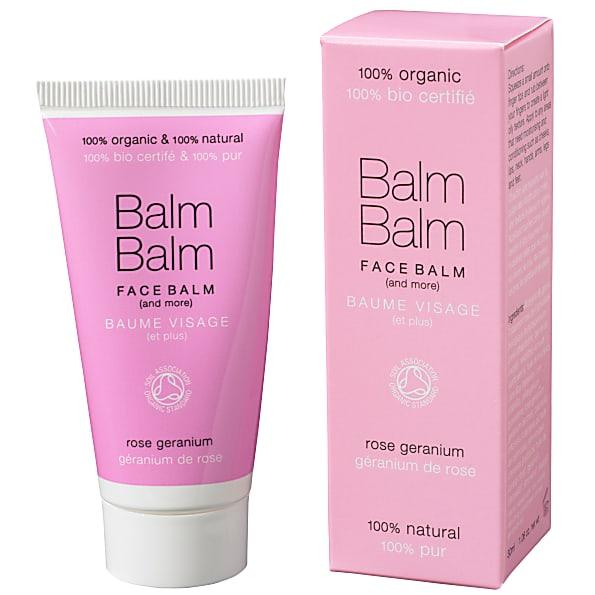 balm balm - baume visage - geranium de rose