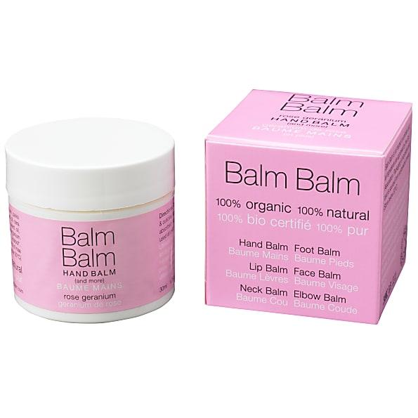 balm balm - baume mains - geranium de rose
