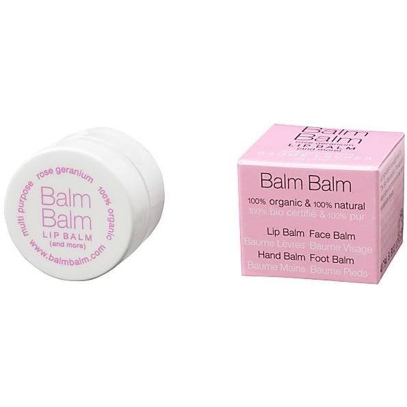 balm balm - baume levres - geranium de rose
