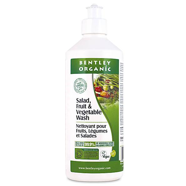bentley organic - nettoyant fruits & legumes