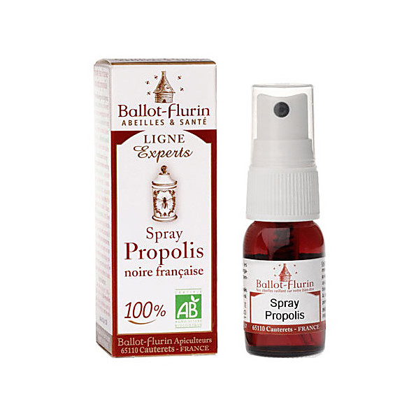 ballot flurin - savon propolis noire - 100g