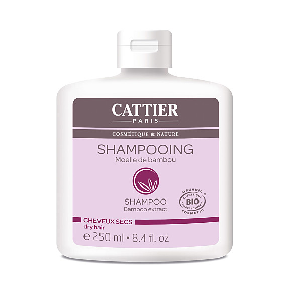 cattier-paris - shampooing moelle de bambou  - 250 ml