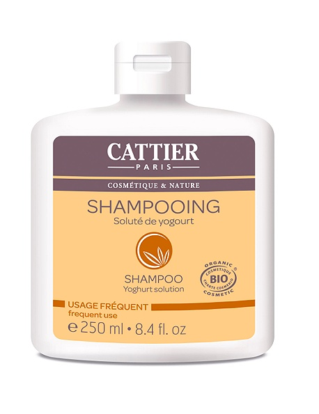 cattier-paris - shampooing solute de yogourt  - 250 ml