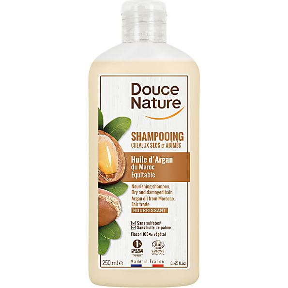 douce nature - shampooing creme argan