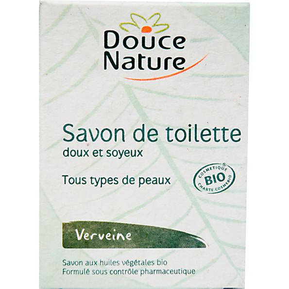 douce nature - savon de toilette - verveine