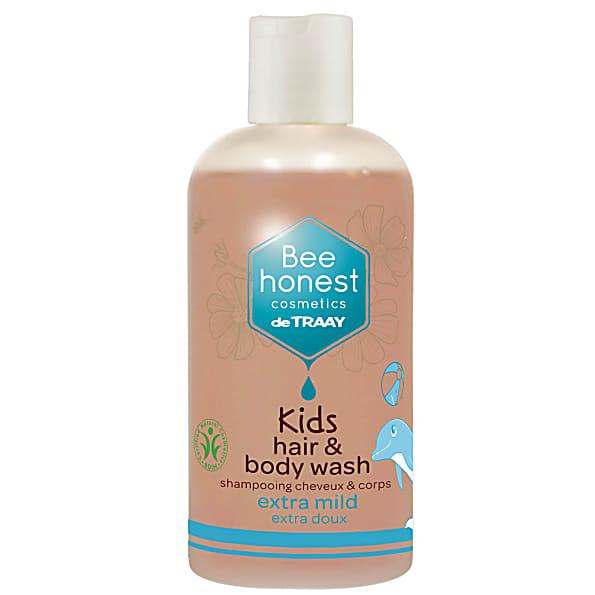 de traay - shampoing cheveux et corps enfants - 250ml