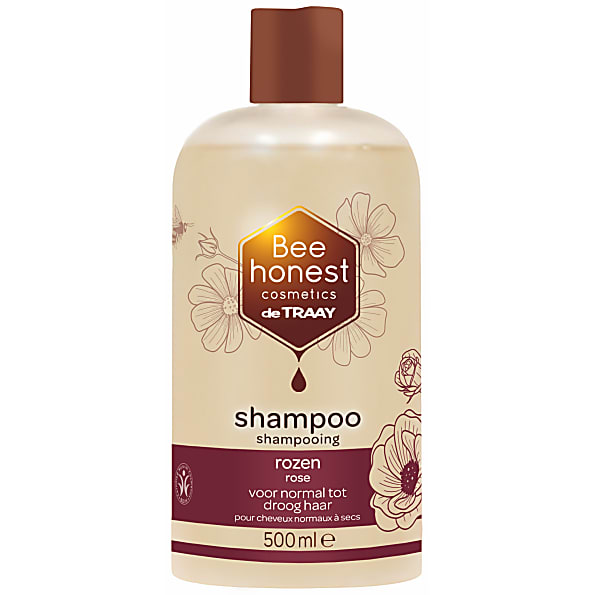 de traay bee - shampoing rose - 500ml