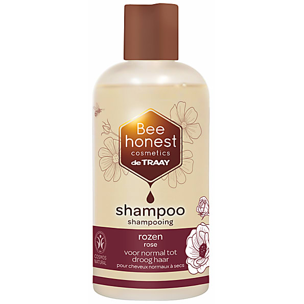 de traay bee - shampoing cheveux normaux - rose - 250ml
