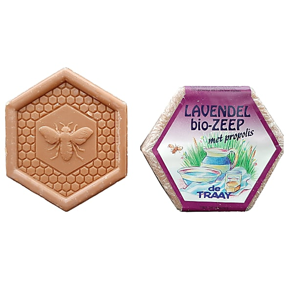 de traay - savon lavande propolis - 100g
